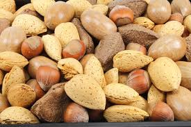 nuts with l-leucine
