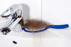 loss of hair